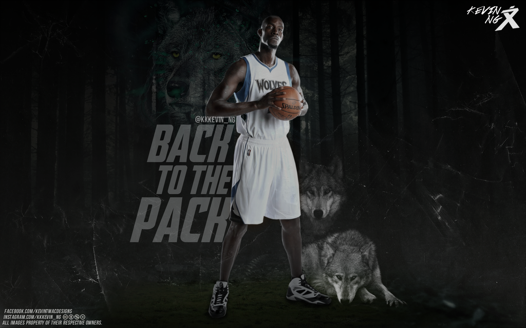 Kevin Garnett Back to the pack wallpaper by Kevin tmac on 1024x640