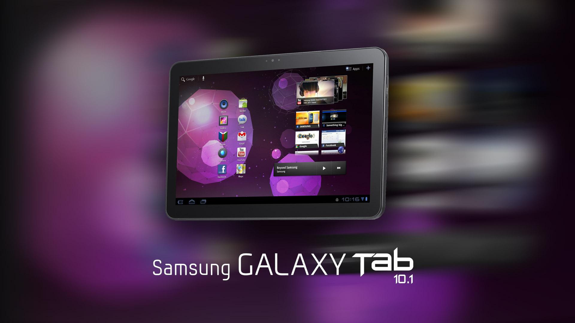 New Samsung Galaxy Tab 101 1920x1080 HD Image Gadgets 1920x1080