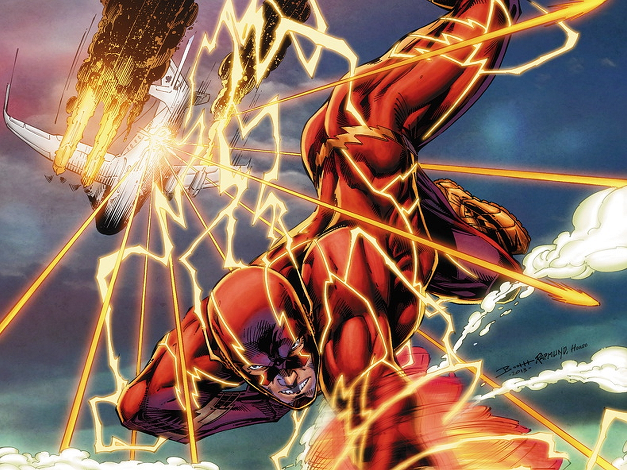 The Flash Laptop Wallpaper