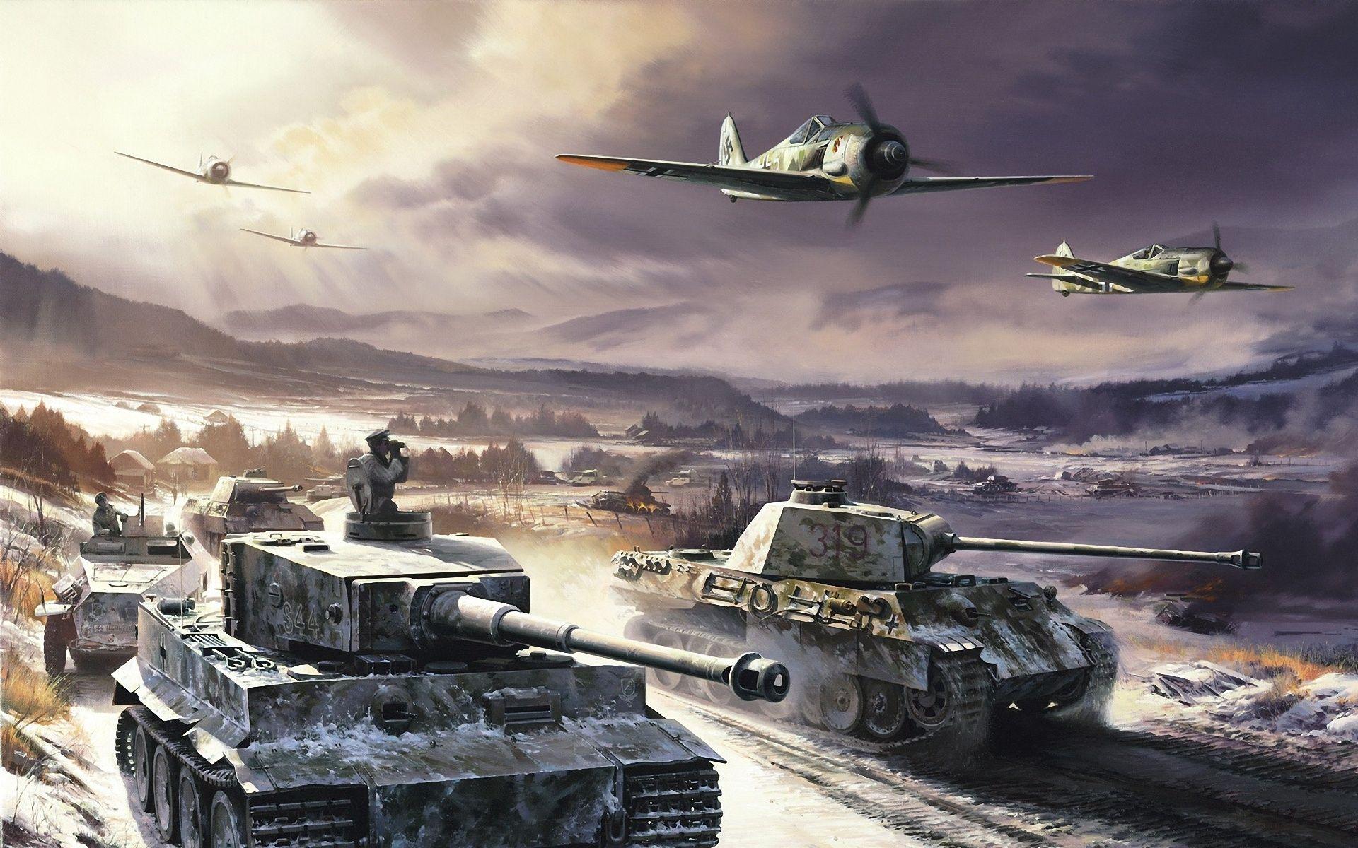 German WW2 Tank Wallpapers   Top German WW2 Tank Backgrounds 1920x1200