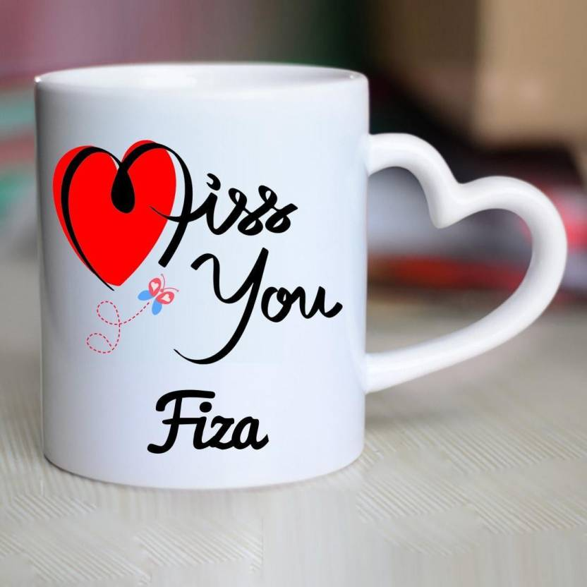 Chanakya I Miss You Fiza Heart Handle mug Ceramic Mug Price in 832x832