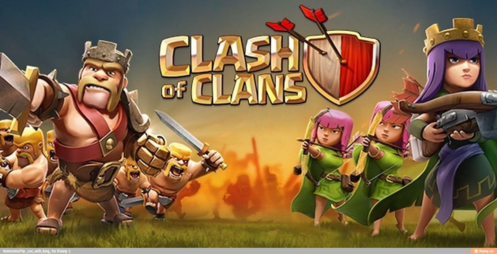 Clash Of Clans Wallpapers 1603x820