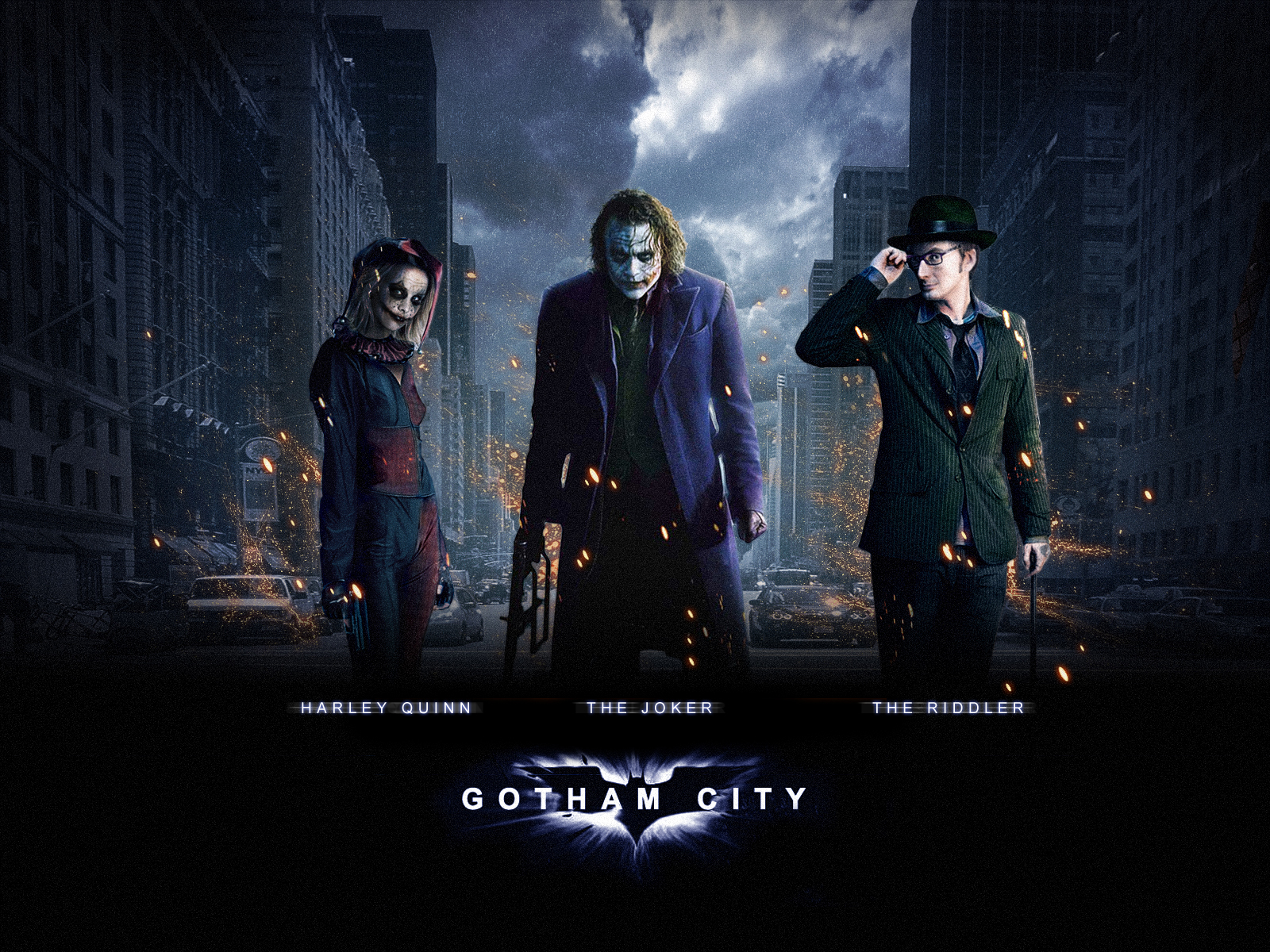 Batman Gotham City Wallpaper by Billoi 1600x1200