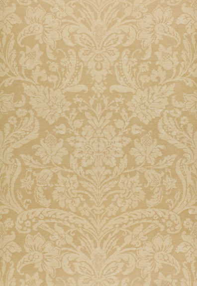 Damask Floreale Wallpaper Beige   Traditional   Wallpaper   by F 396x575