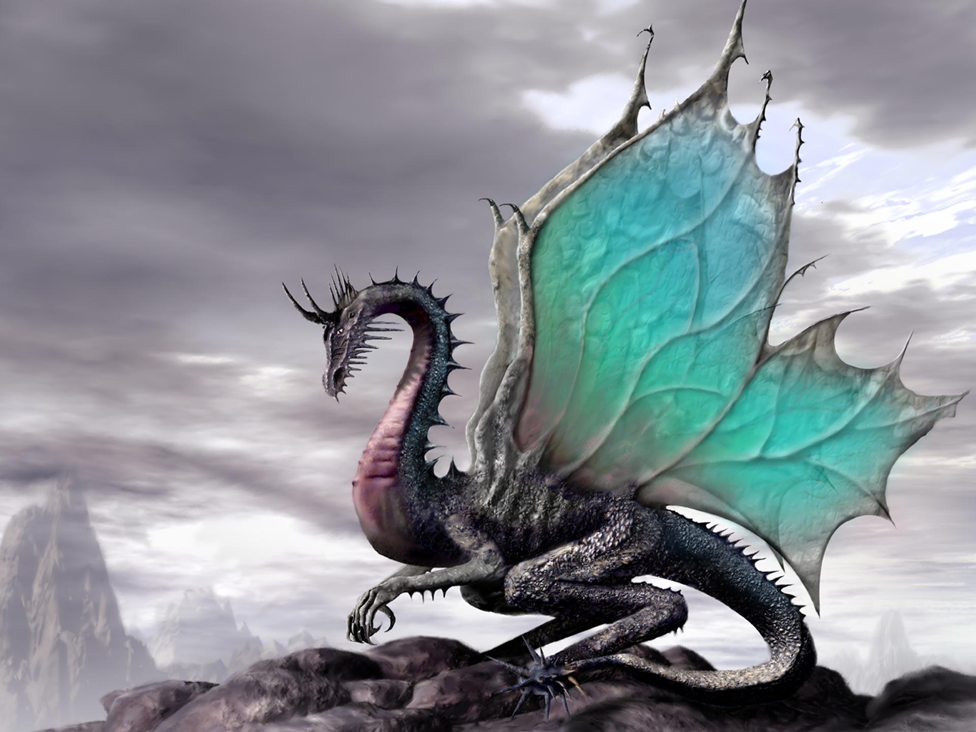 Desktop Wallpaper Gallery 3D Art Ancient Dragon 1920x1440