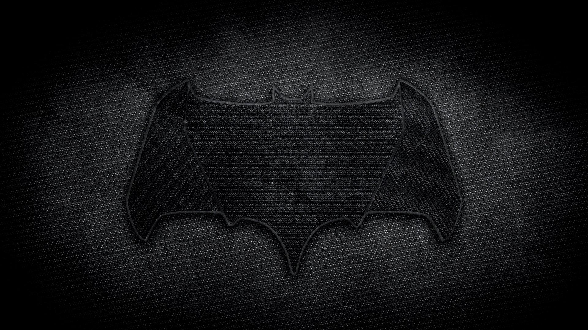 batman logo in batman vs superman dawn of justice movie 2016 1920x1080