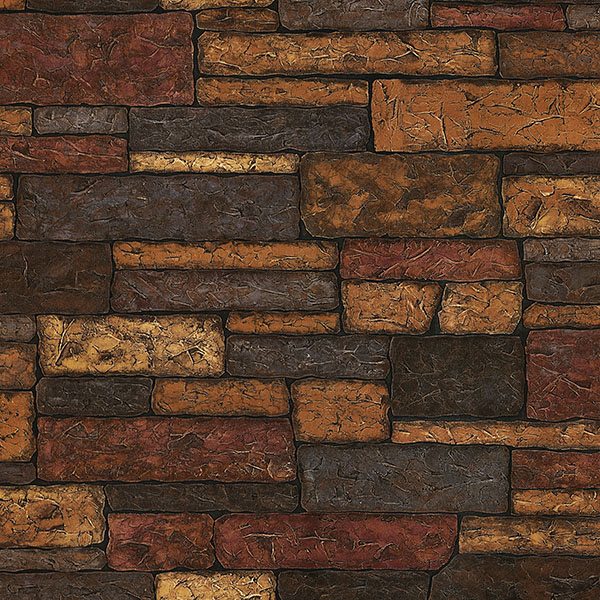 Stone Texture   Clayton   ECHO LAKE LODGE Wallpaper by Chesapeake 600x600