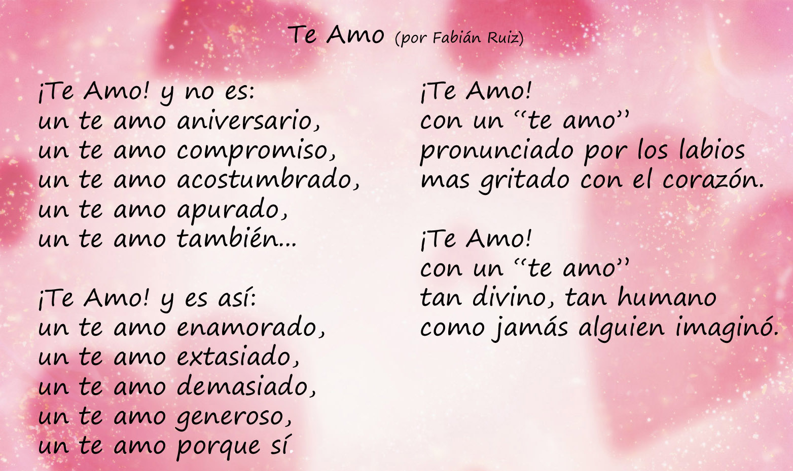 Love and Images Love Poems in Spanish 1564x930