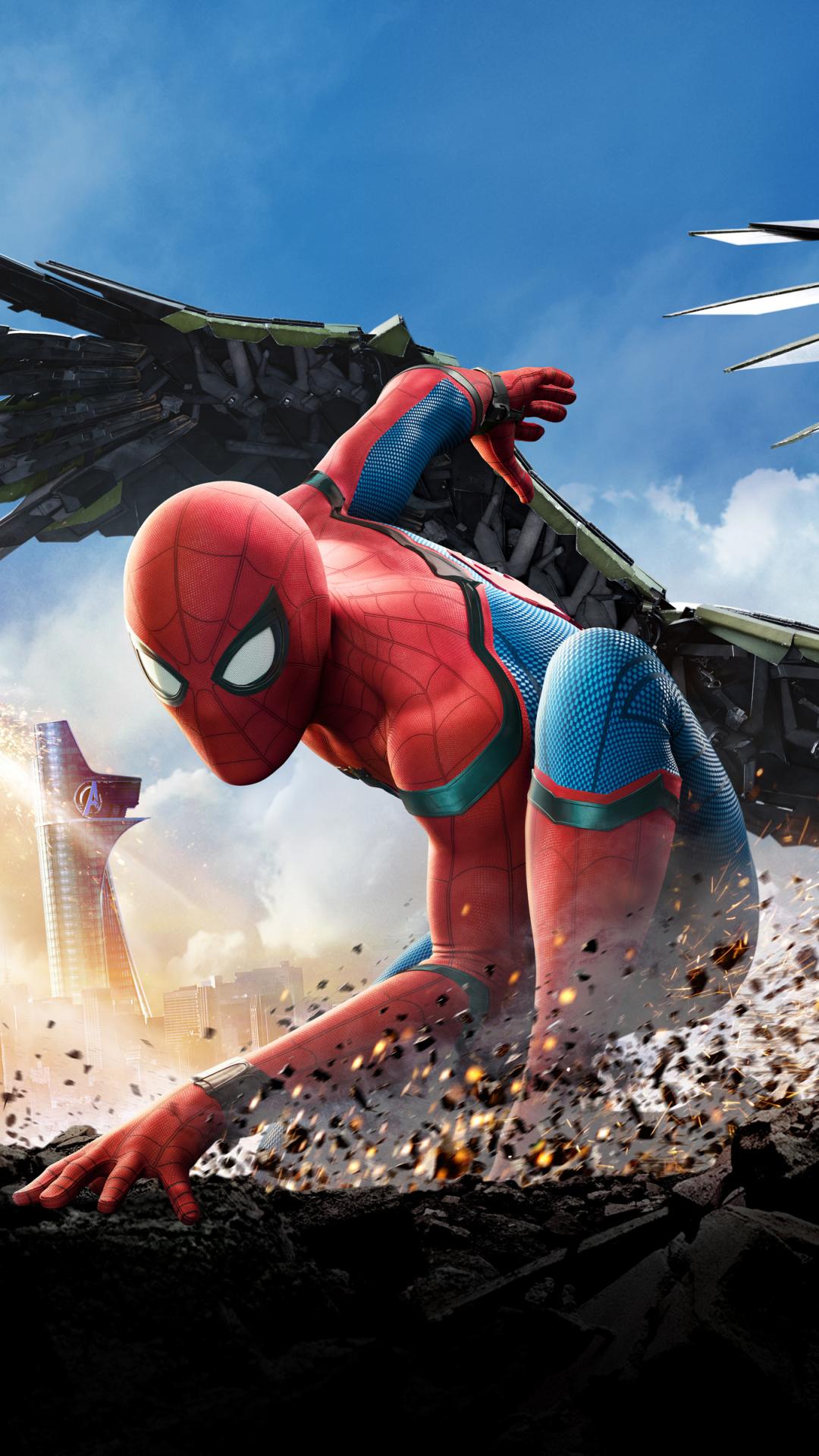 MovieSpider Man Homecoming 1080x1920 Wallpaper ID 683000 1080x1920