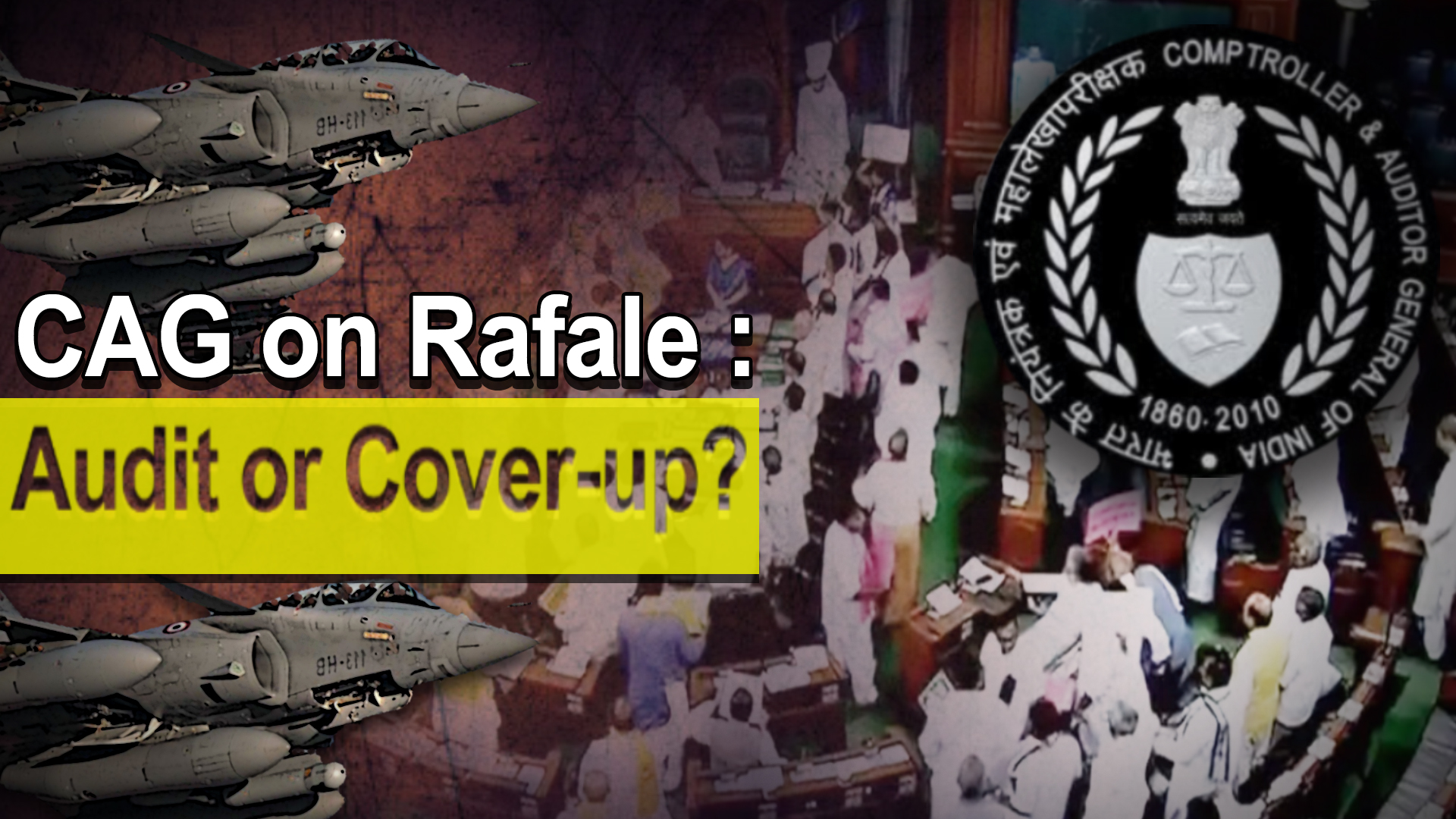 CAG on Rafale Audit or Cover up NewsClick 1920x1080