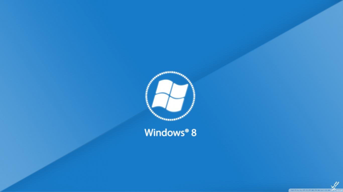 Windows 8 New Theme 4K HD Desktop Wallpaper for 4K Ultra HD TV 1366x768