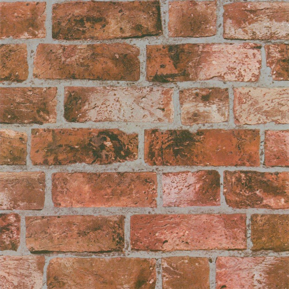 Fine Decor Distinctive Brick Wallpaper Red eBay 1000x1000