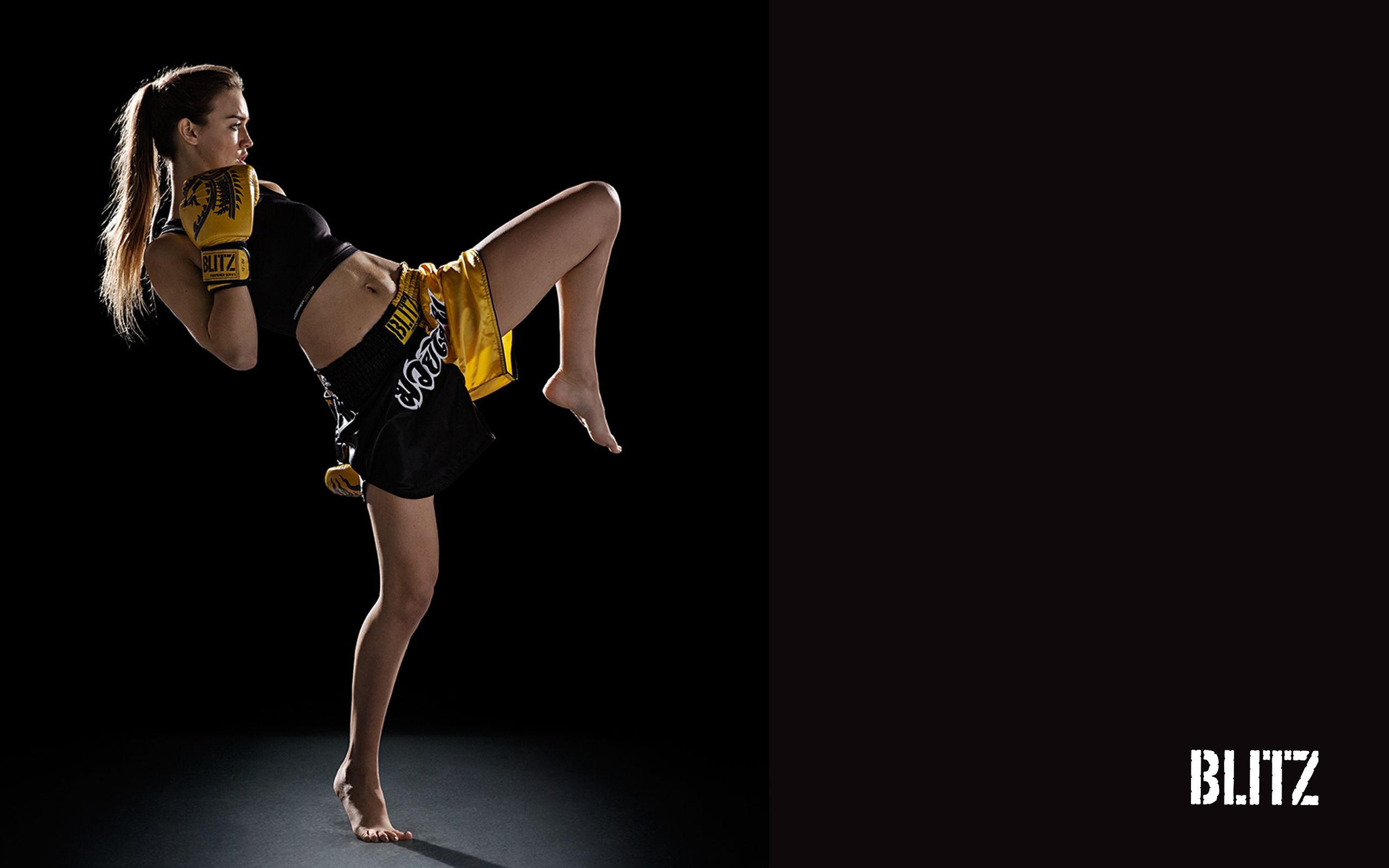 Muay Thai aka Thai Kickboxing blitz wallpaper muaythai 2560x1600