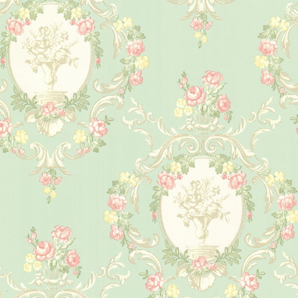 mint and pink wallpaper - photo #4