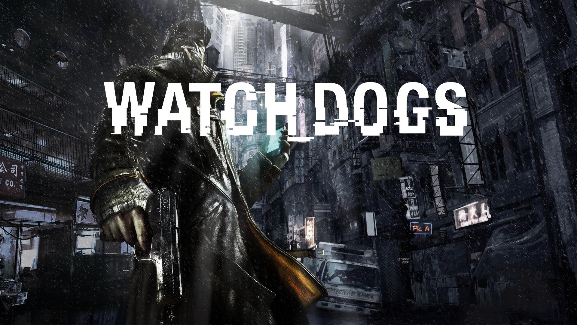 Watch Dogs Wallpaper Loud Title version by SpectreSinistre on 1920x1080