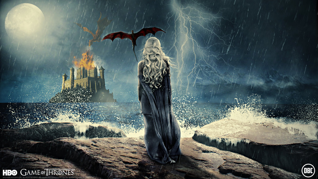 Game Of Thrones Wallpaper Daenerys by Chadski51 1024x576