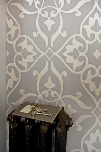 Elegant   Traditional   Wallpaper   toronto   by Prime Walls 400x600