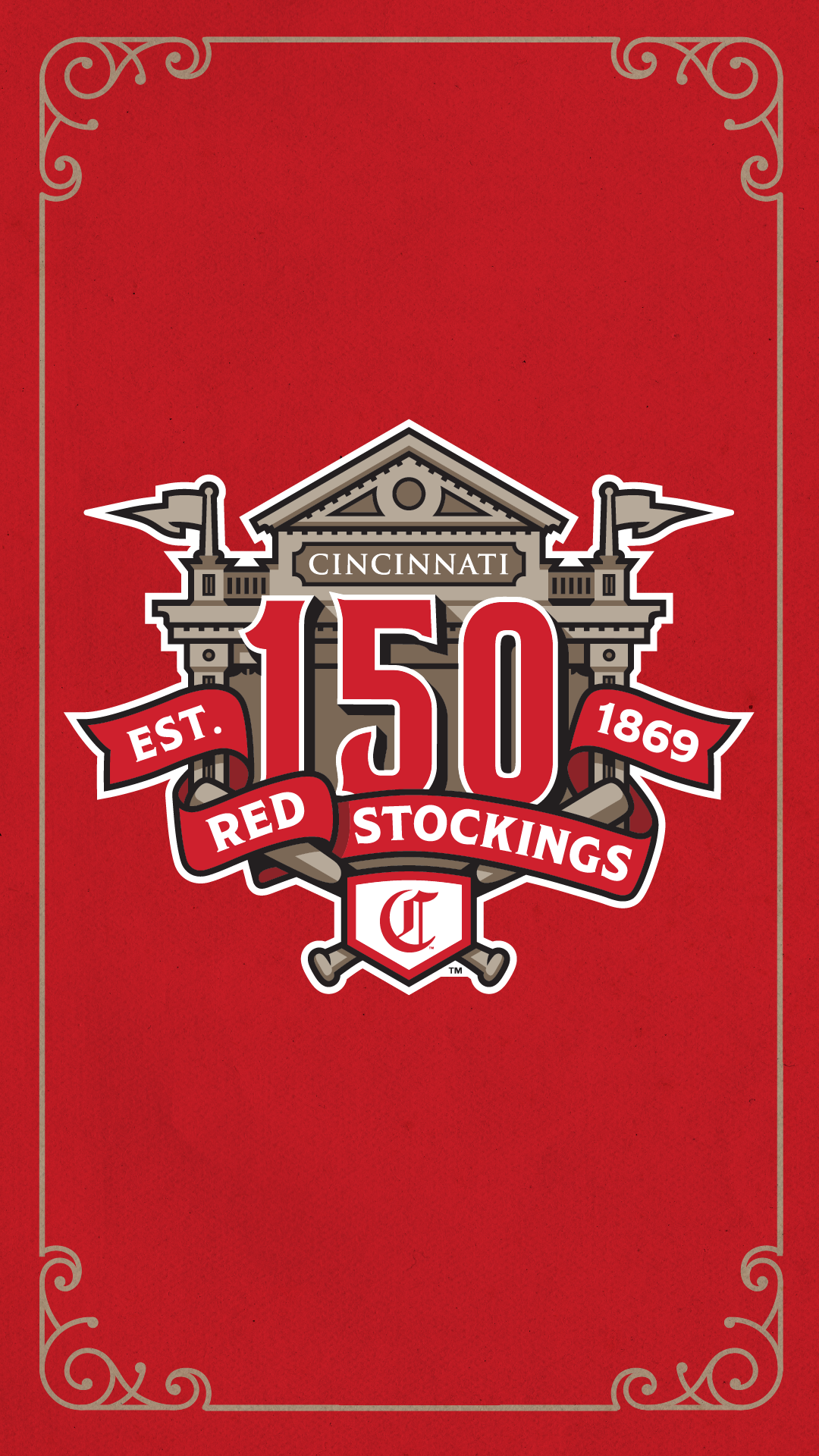 Social Media Covers and Wallpapers Cincinnati Reds 1080x1920