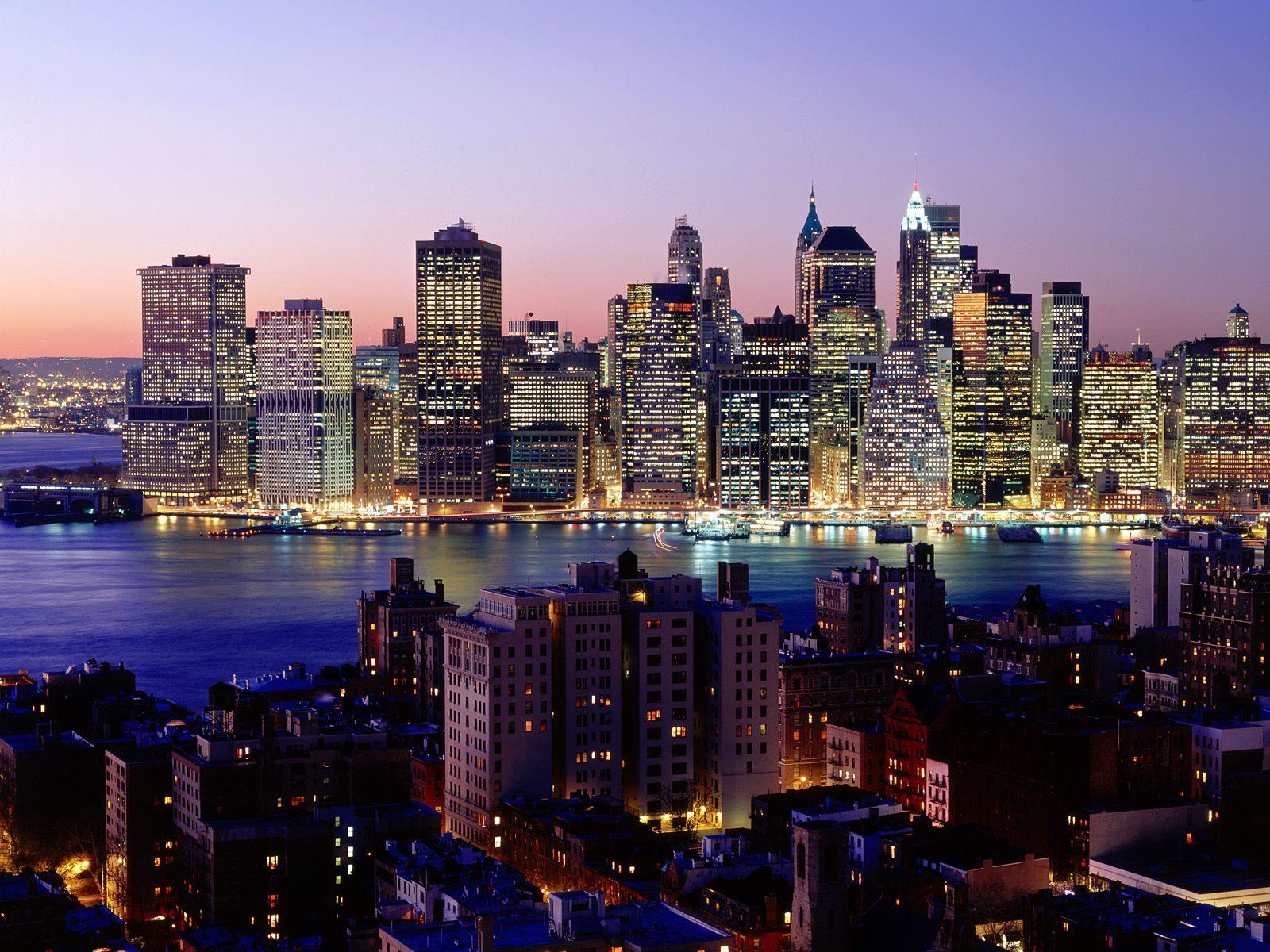 Twilight Sky New York Wallpapers HD Wallpapers 1600x1200
