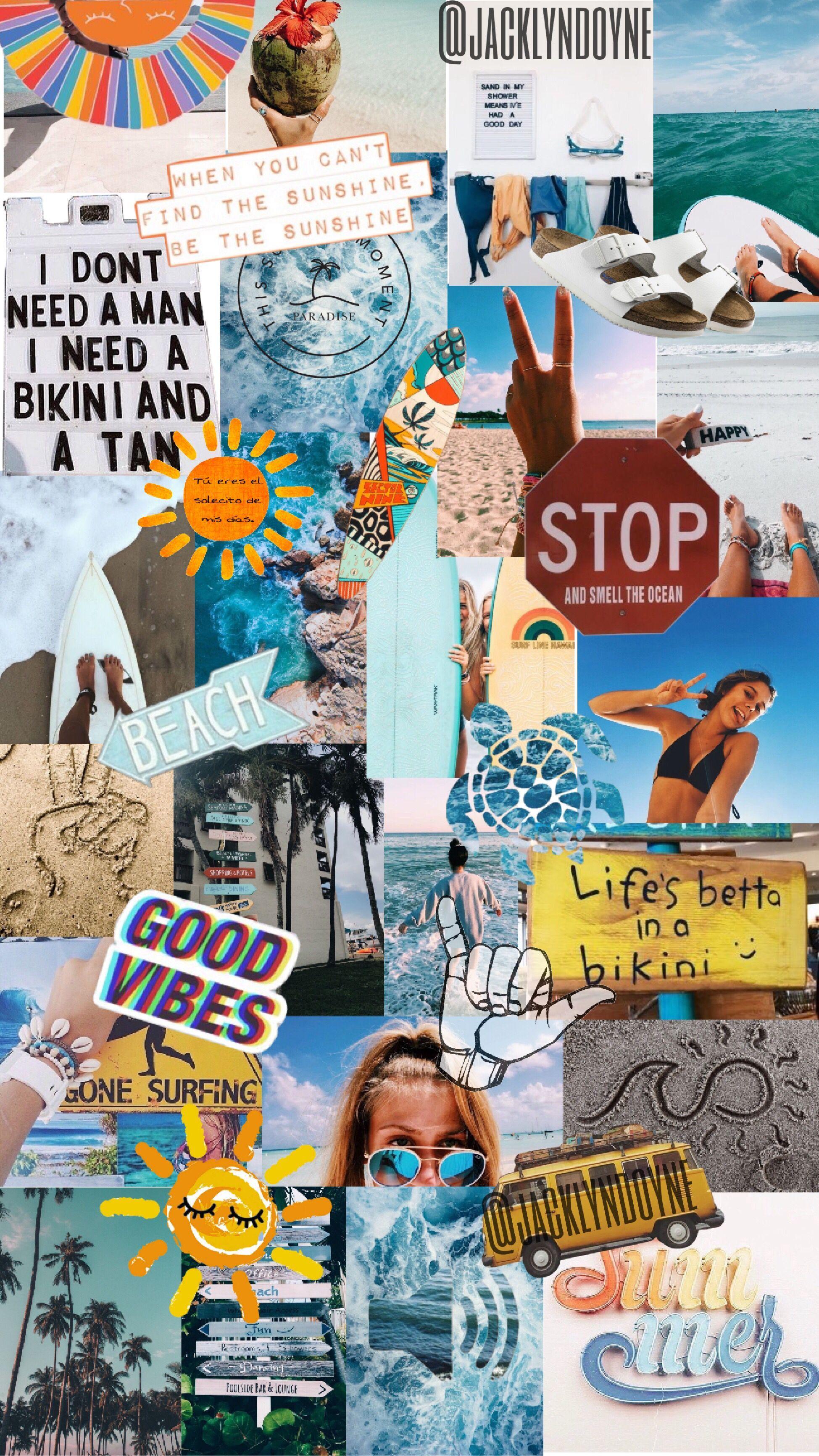 VSCO Collage Wallpapers 2020   Broken Panda 1949x3465