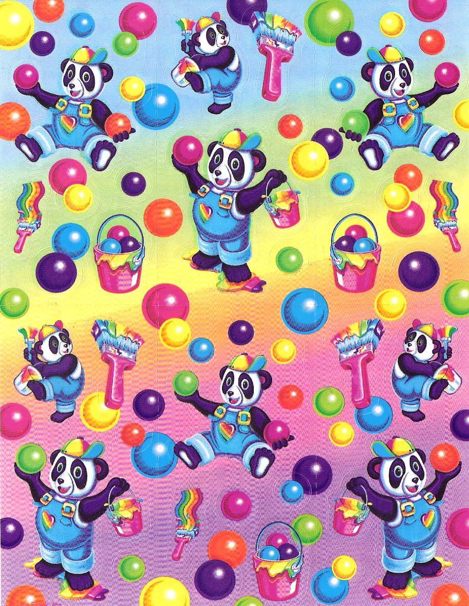 lisafrankswag Panda Painter Lisa Frank Party 913x1180