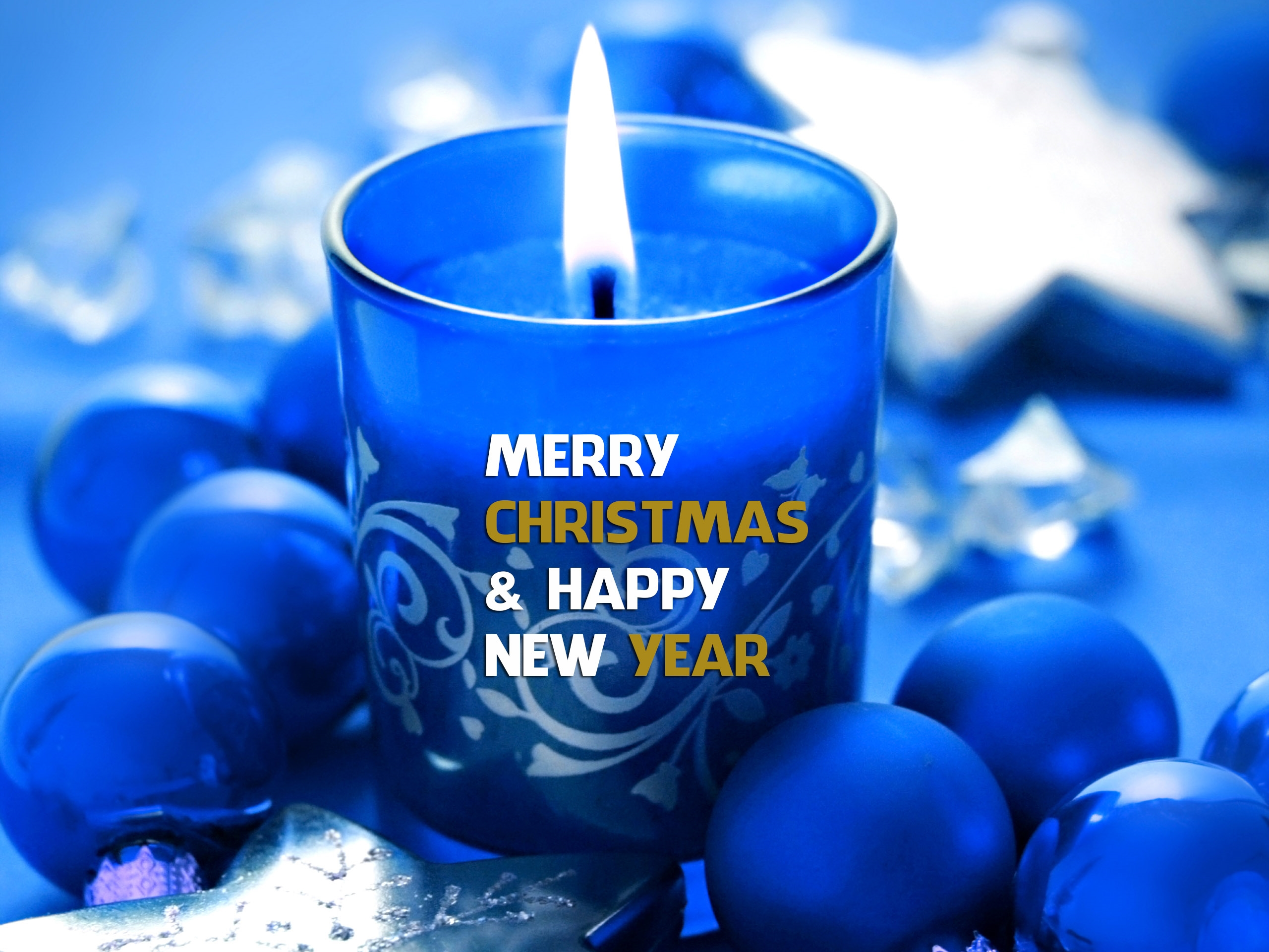 Happy New Year And Merry Christmas Hd Wallpaper   Whatsapp Profile 2560x1920