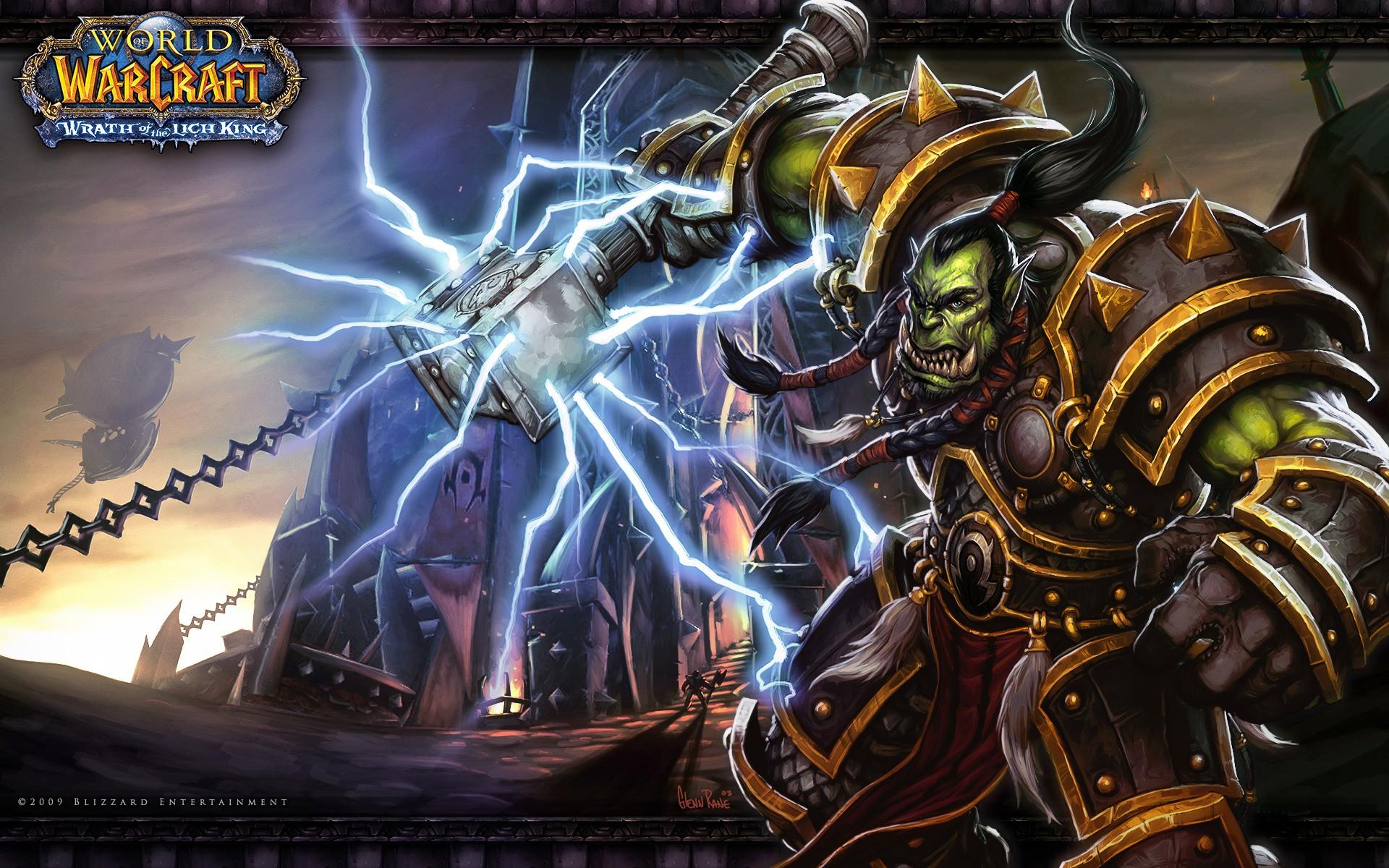 world of warcraft wrath background original desktop 1920x1200