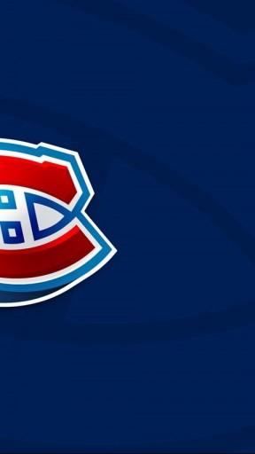 Montreal Canadiens Logo 3d Wallpaper 288x512
