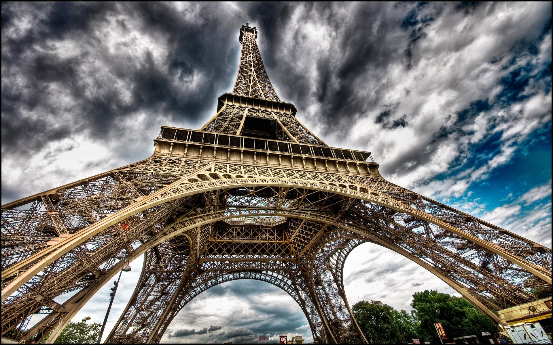 Tour Eiffel de Paris Wallpapers fond dcran photos en HD 1920x1200