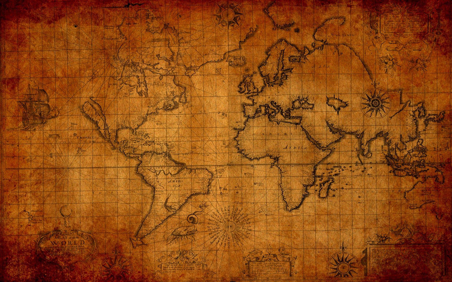 map wallpaper Old World Map Desktop Wallpaper for office back 1920x1200