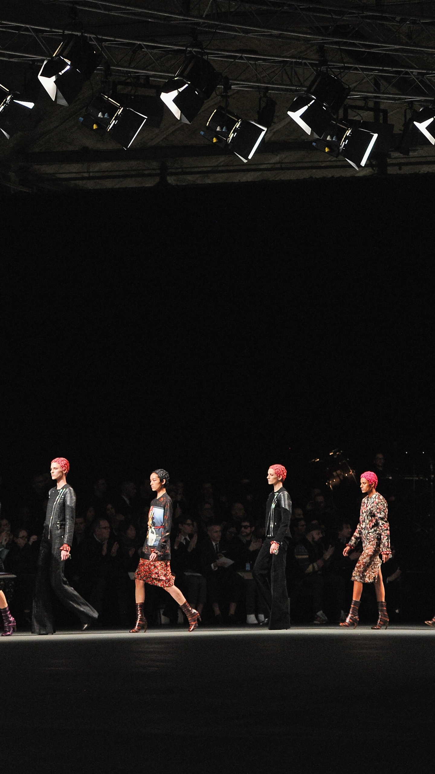 download Givenchy fashion show wallpapers and images 1440x2560
