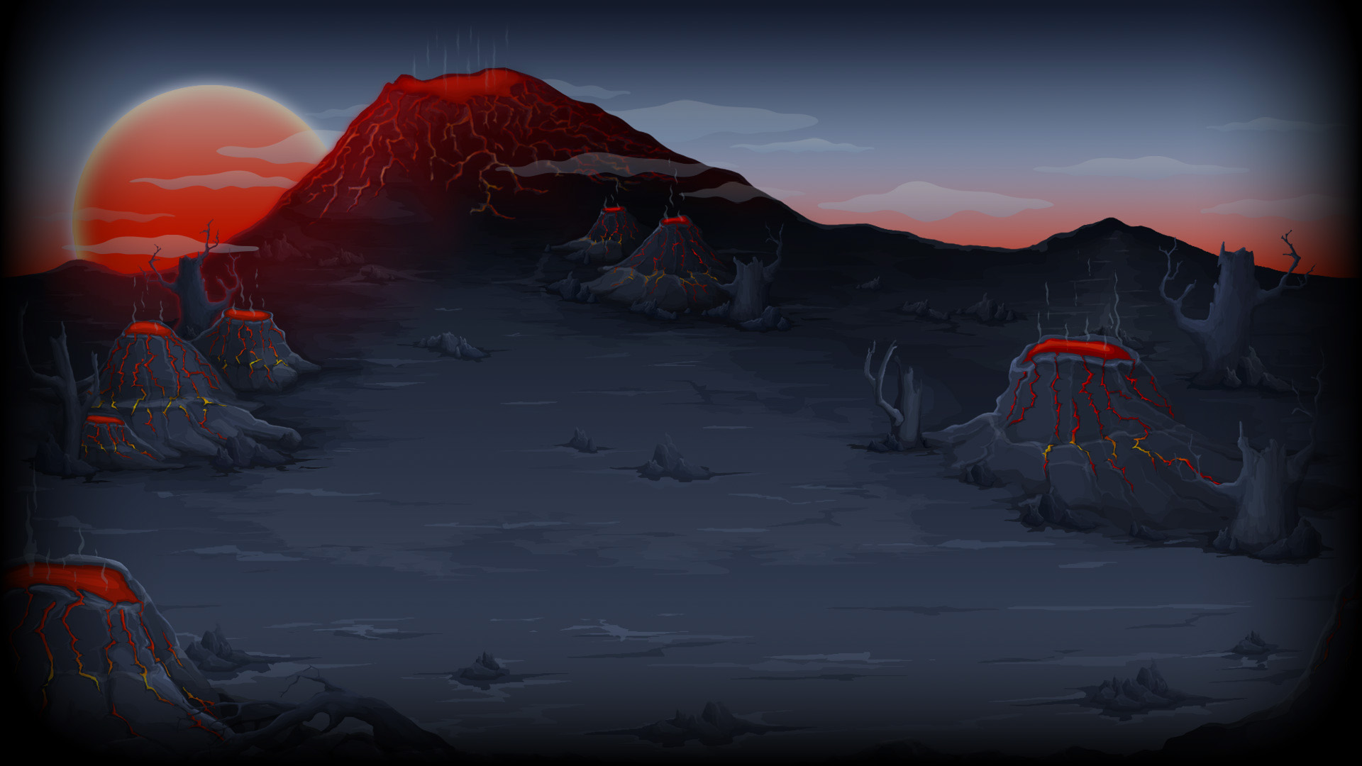 Steam Community Market Listings for 348340 Volcano background 1920x1080