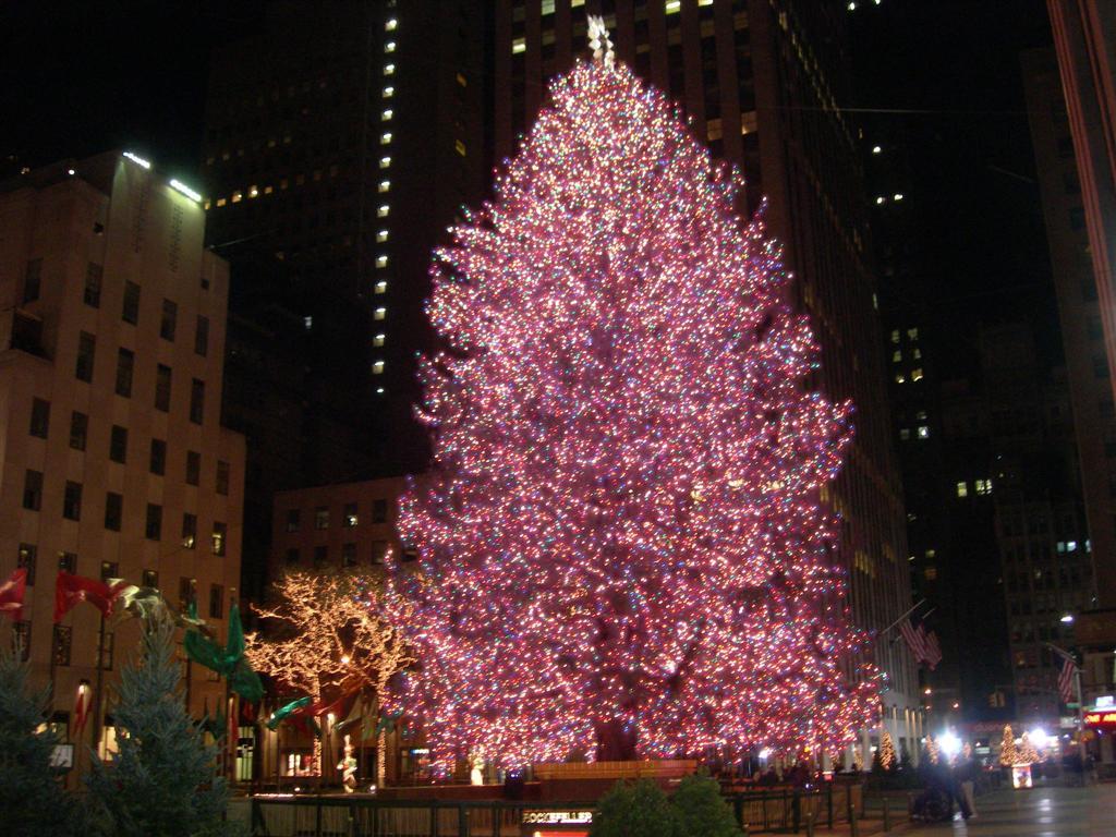 New York City Christmas 10 Hd Wallpaper 1024x768