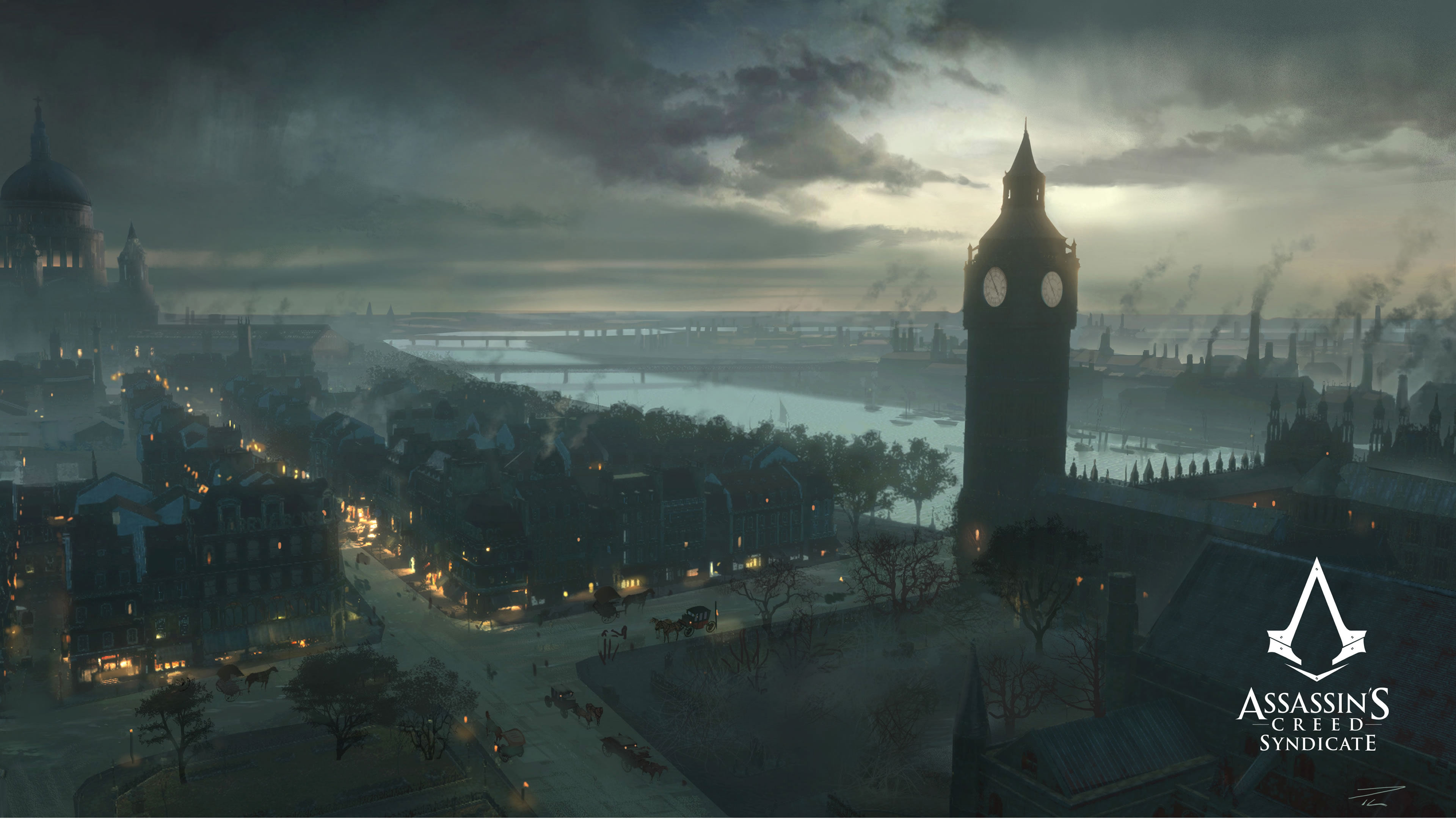 londo assassins creed syndicate - HD 3800×1949