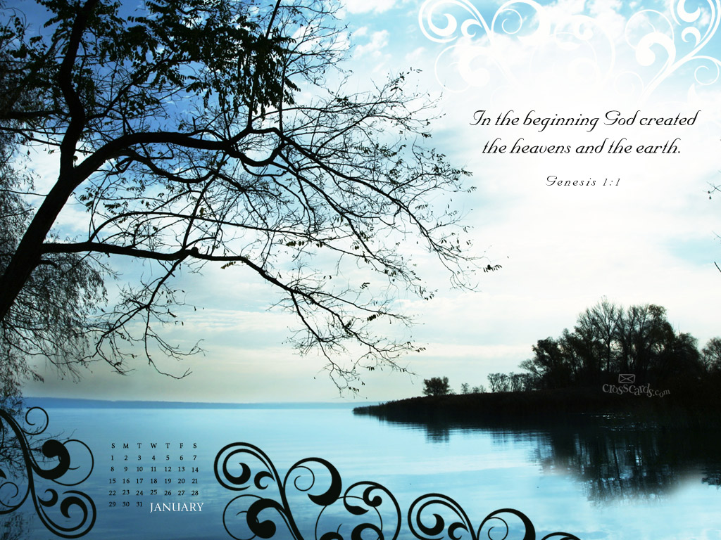 Free Christian Wallpaper With Calendar