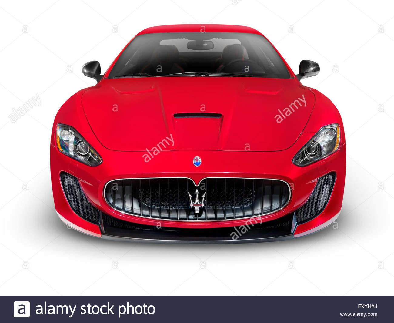 2015 Maserati GranTurismo MC Centennial Edition red front view 1300x1065