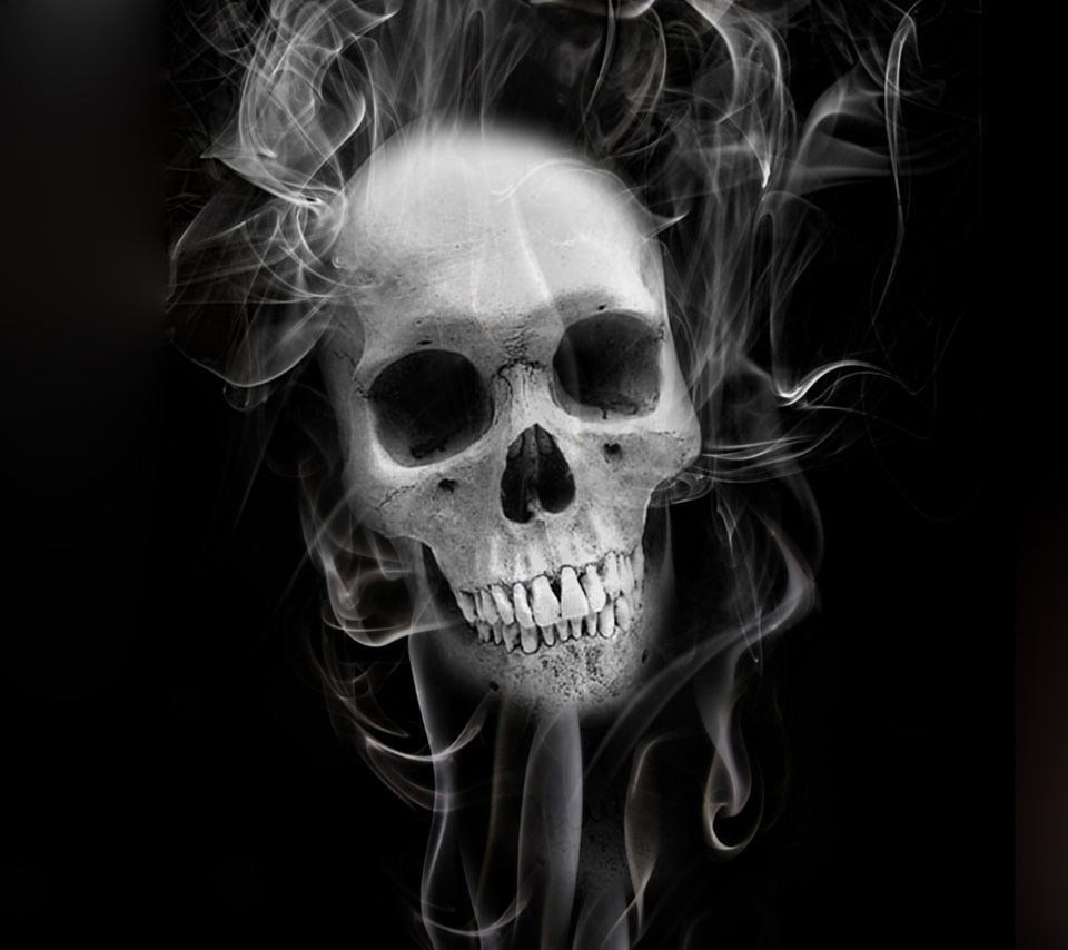 scary skull wallpaper - wallpapersafari