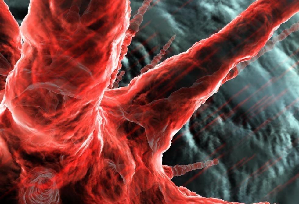 Microscopic World Animated Wallpaper animated 980x670