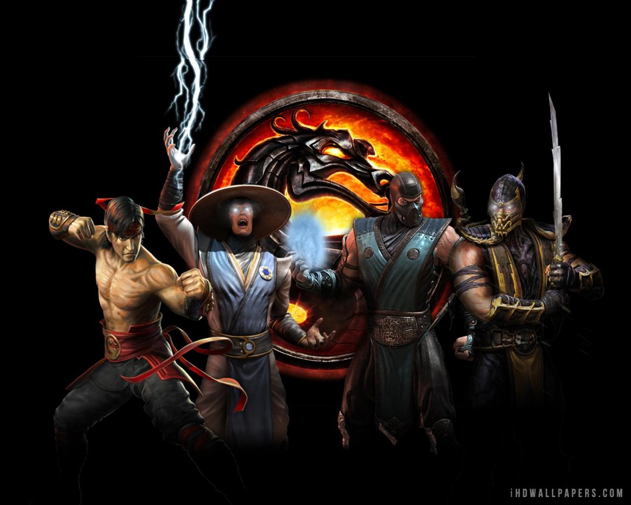 Mortal Kombat 9 Characters 1280x1024