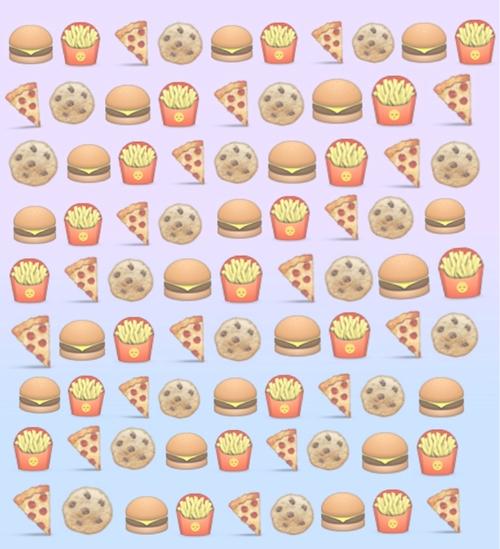 Food Emoji Wallpaper 500x549