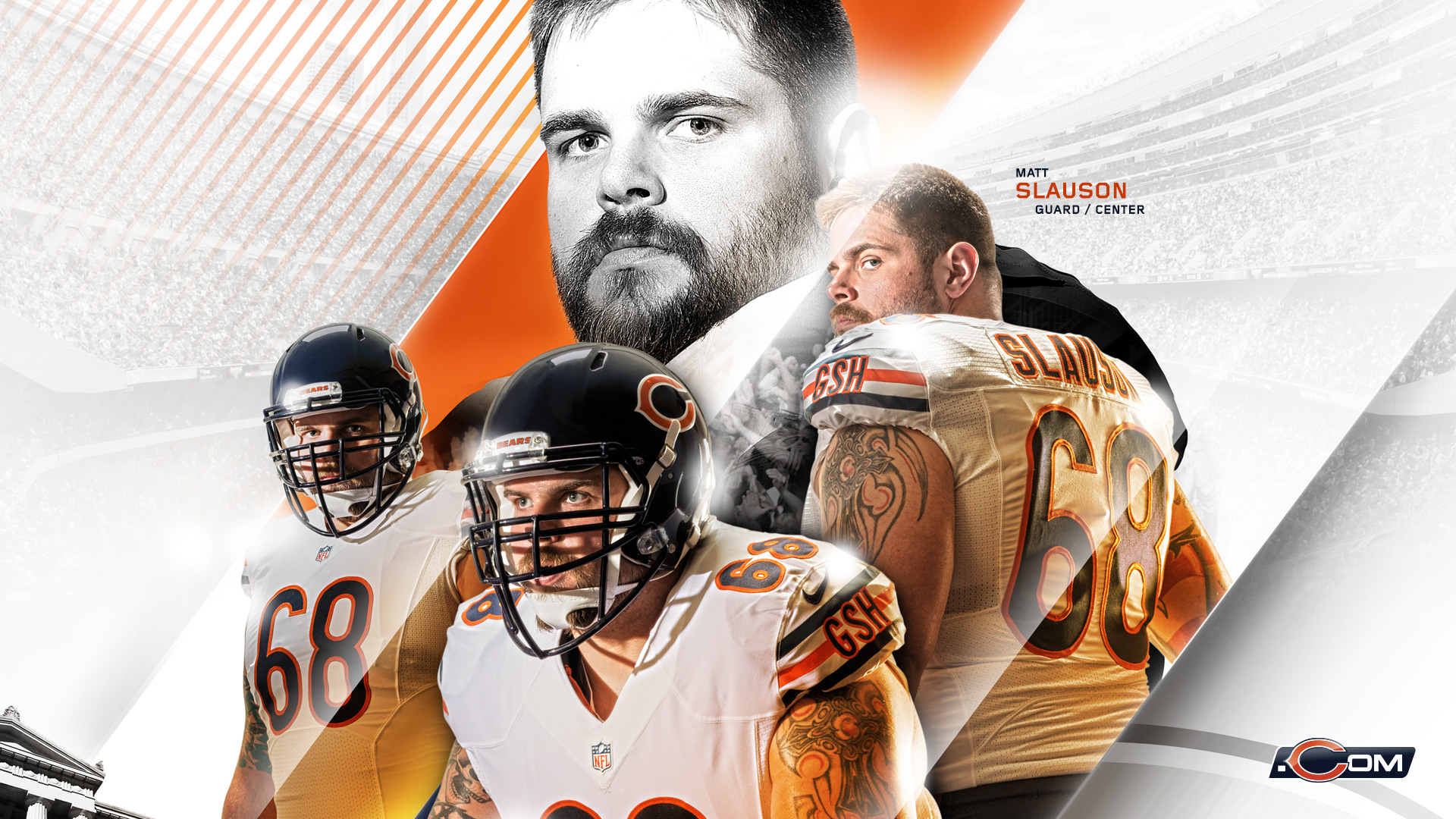 Chicago Bears 2015 Wallpapers 1920x1080
