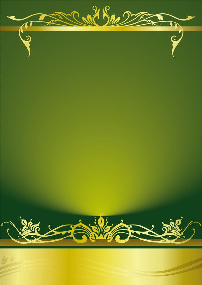 European Gold Pattern Background Material Invitation background 650x919