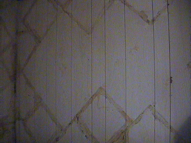 kitchen cabinets Wallpaper over paneling   FamilyCornercom Forums 640x480
