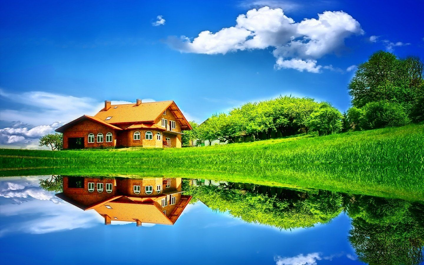 Dream House Wallpaper High Definition Dry Awesomeness Home 1440x900
