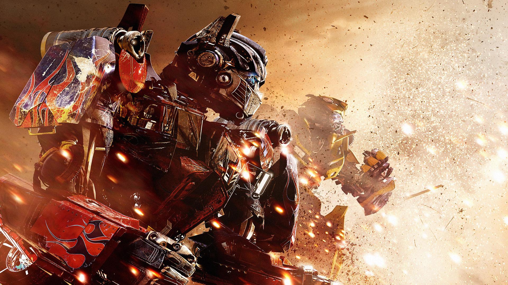 Free Optimus Bumblebee In Transformers 3 Wallpapers