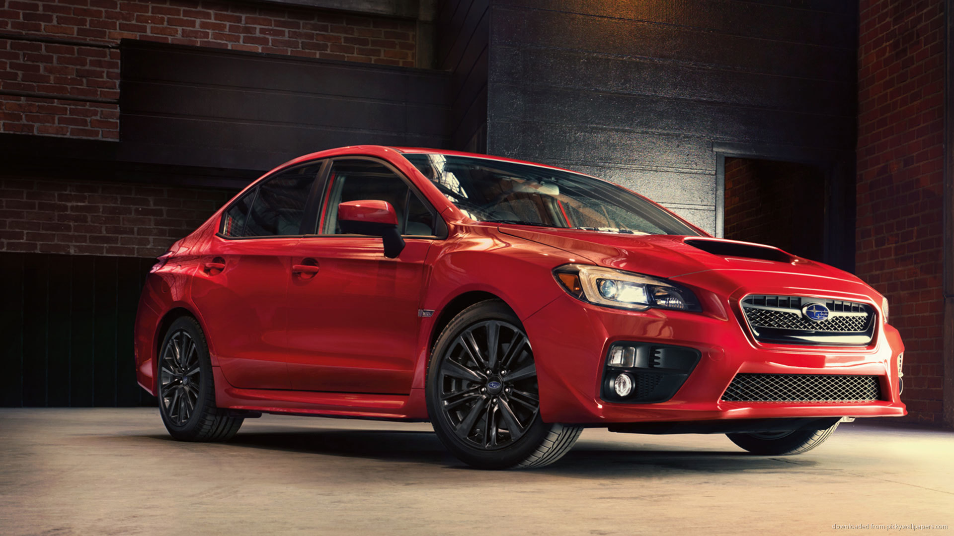 Free Download 2015 Red Subaru Wrx Sti Wallpaper Picture For Iphone