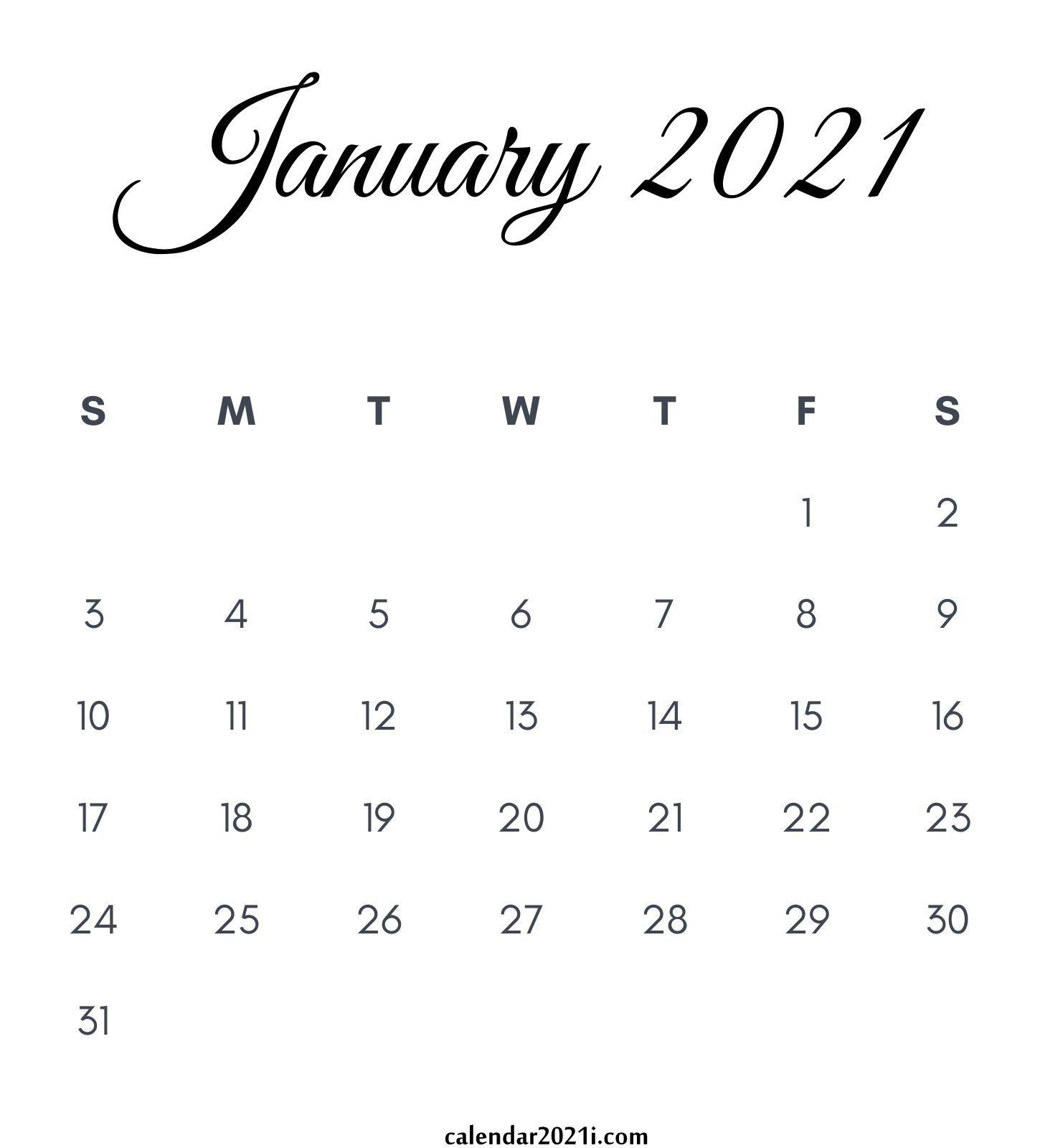 January 2021 Calendar Printable Wallpaper Floral Holidays 1450x1600
