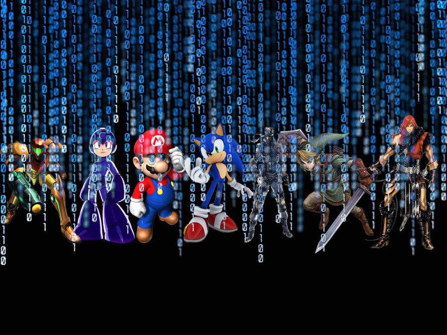 Wallpaper video games wallpapersafari - Cool backgrounds video games ...