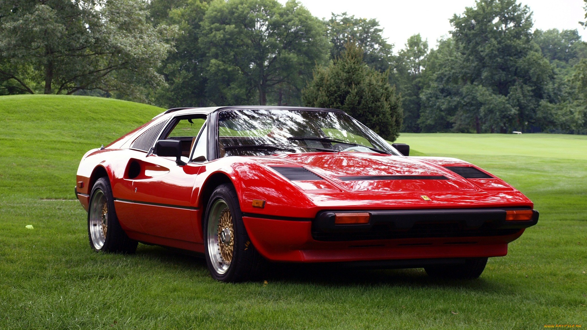 Ferrari 308 supercar red wallpaper 2048x1152 43005 WallpaperUP 2048x1152