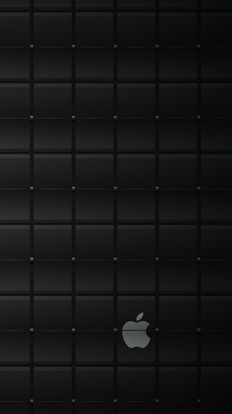 Black apple dark iPhone 6 Wallpaper iPhone 6 Wallpapers 750x1334